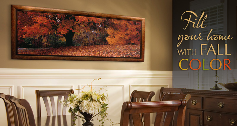 Fill Your Home with Fall Color