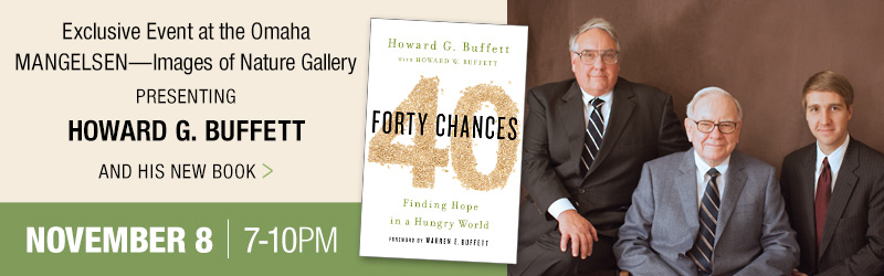 Exclusive gallery event presenting Howard G. Buffett