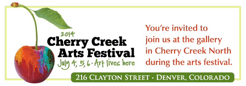 Join us for the Arts Festival in Cherry Creek North, Denver