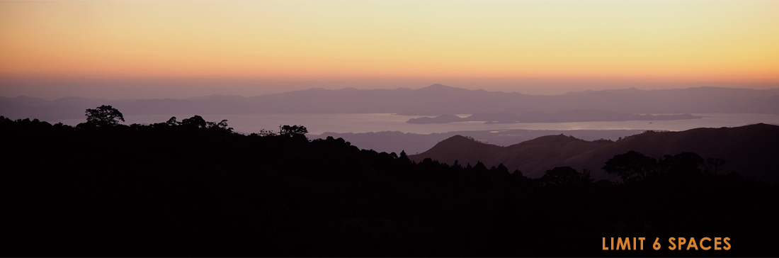 "Mangelsen's ""Sunset over Nicoya Bay""  was photographed in