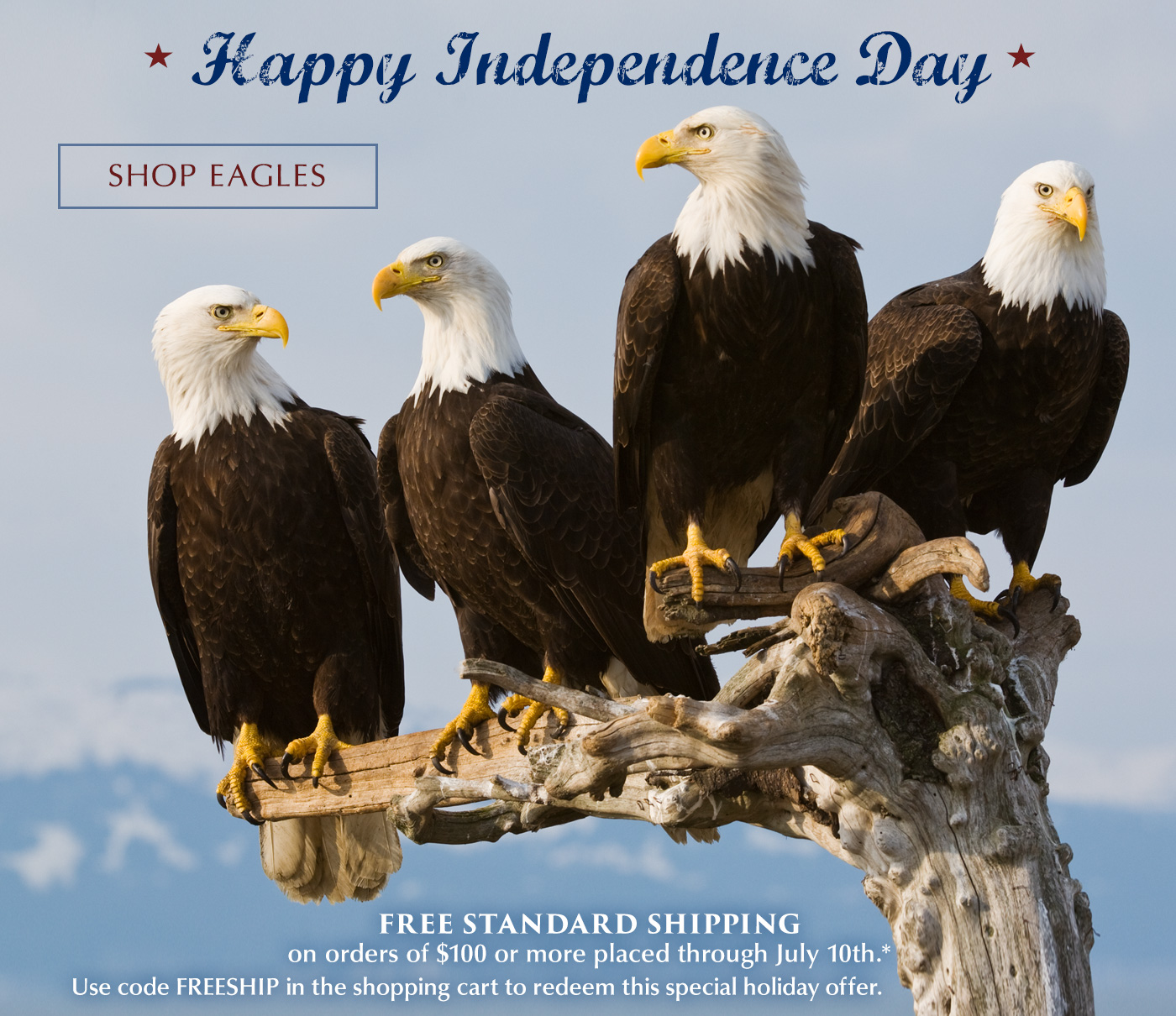 Have a Safe and Wonderful Independence Day!