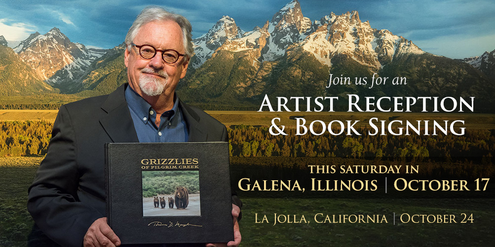 You are cordially invited to an Artist Reception and Book Signing this weekend in Galena, Illinois.