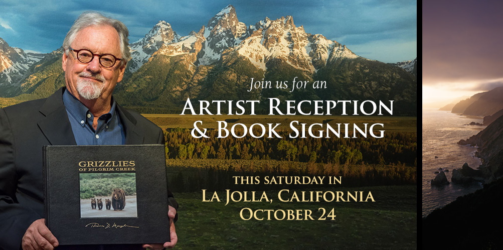 You are cordially invited to an Artist Reception and Book Signing this weekend in La Jolla, California.