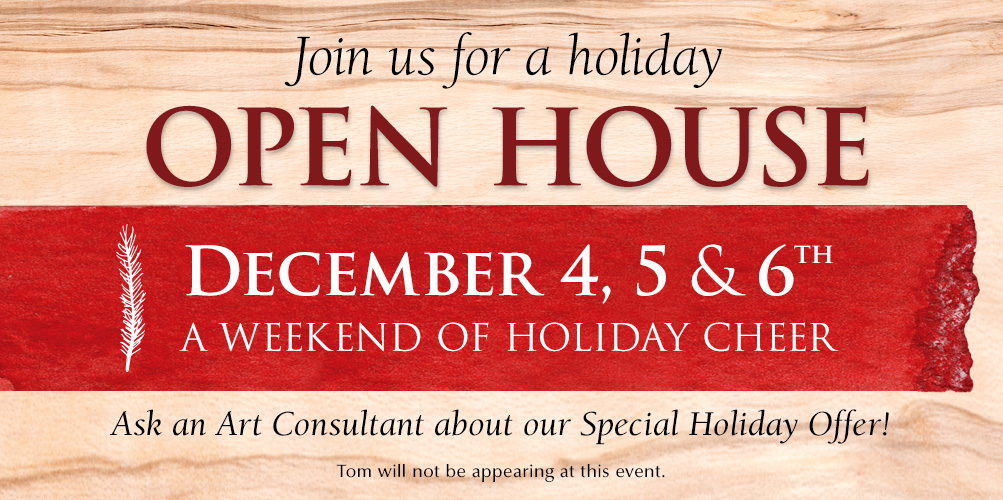 Stop in your local Mangelsen gallery to celebrate a weekend of holiday cheer