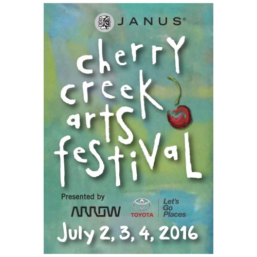 Join us for Denver's Arts Festival in Cherry Creek North