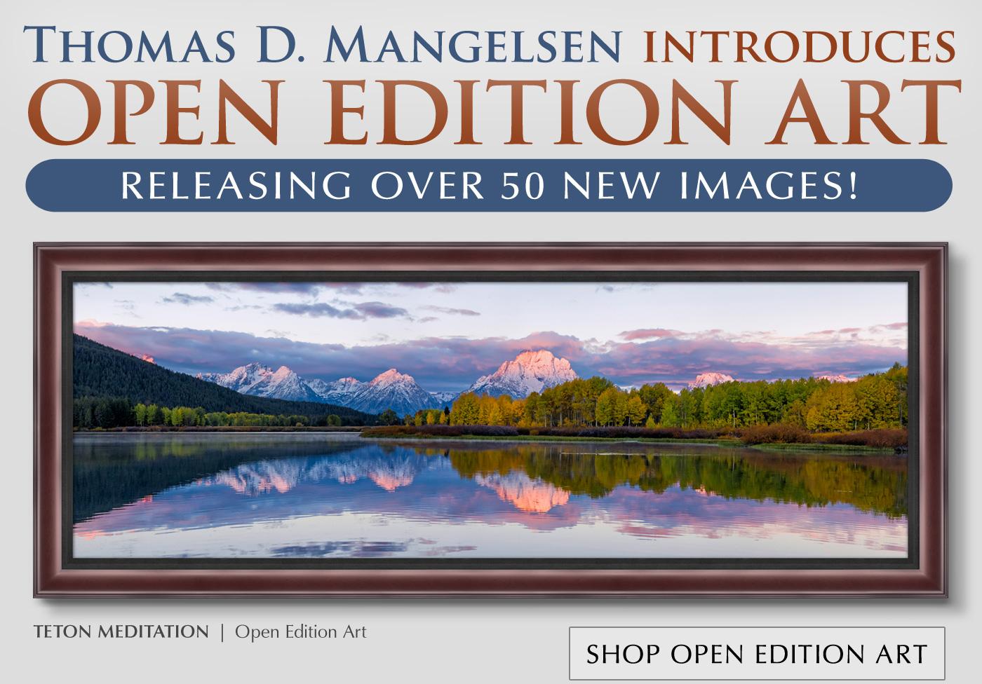 Teton Meditation   Framed - Open Edition Art