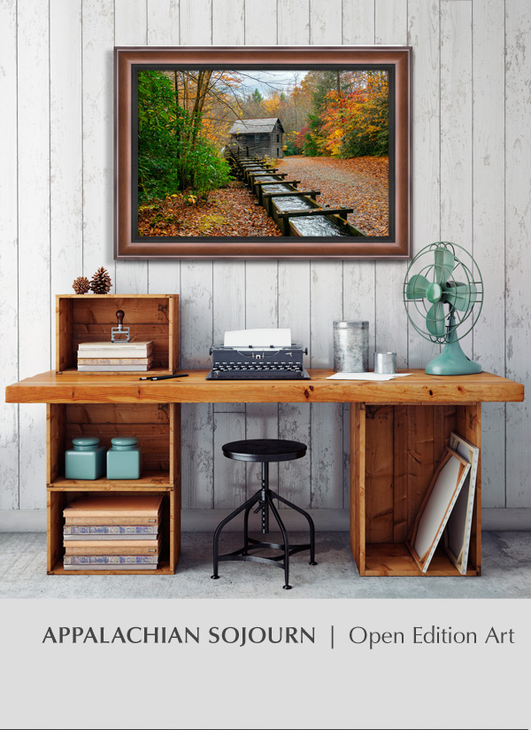 Appalachian Sojourn   Framed - Open Edition Art