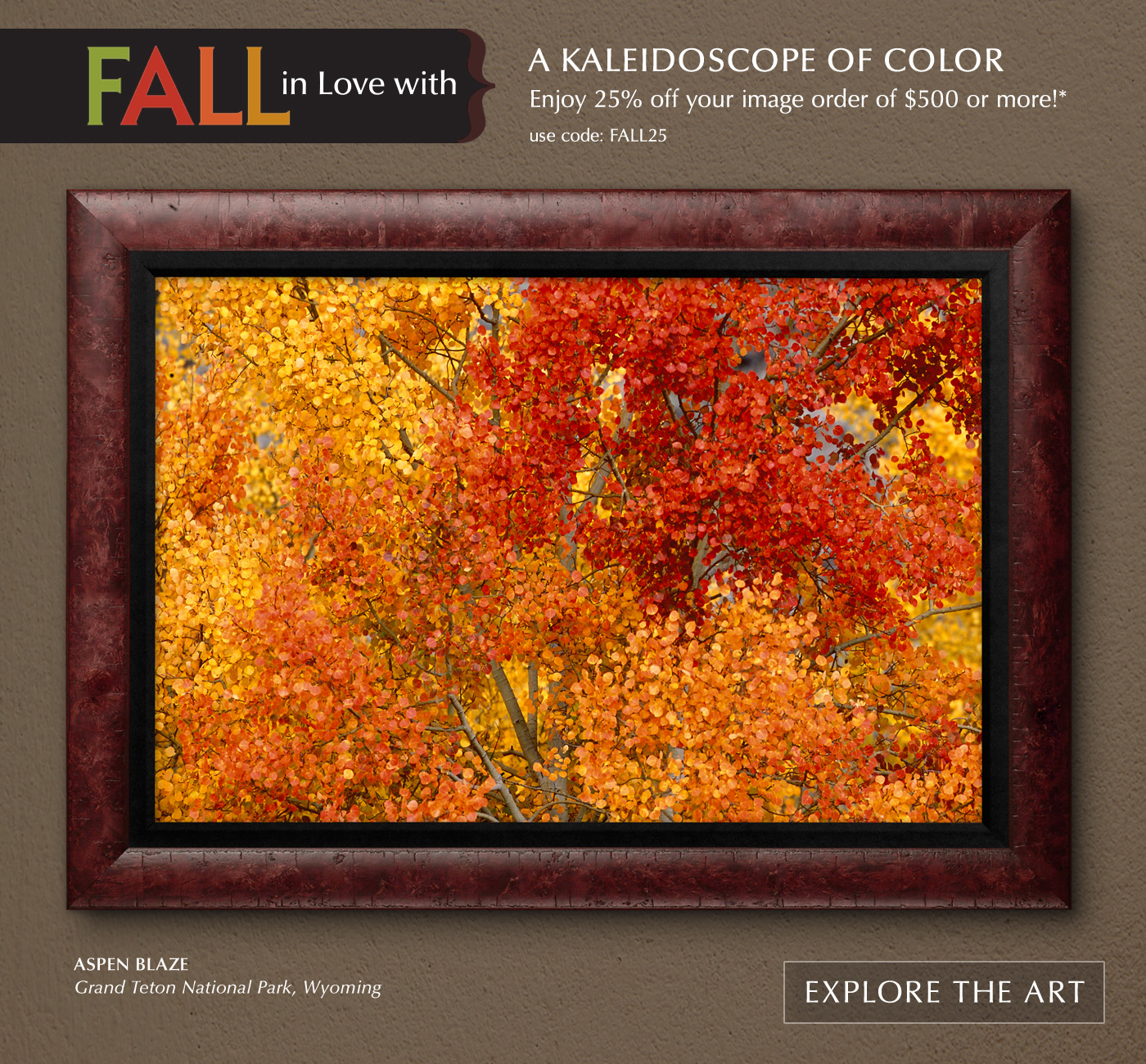 FALL in Love with a Kaleidoscope of Color