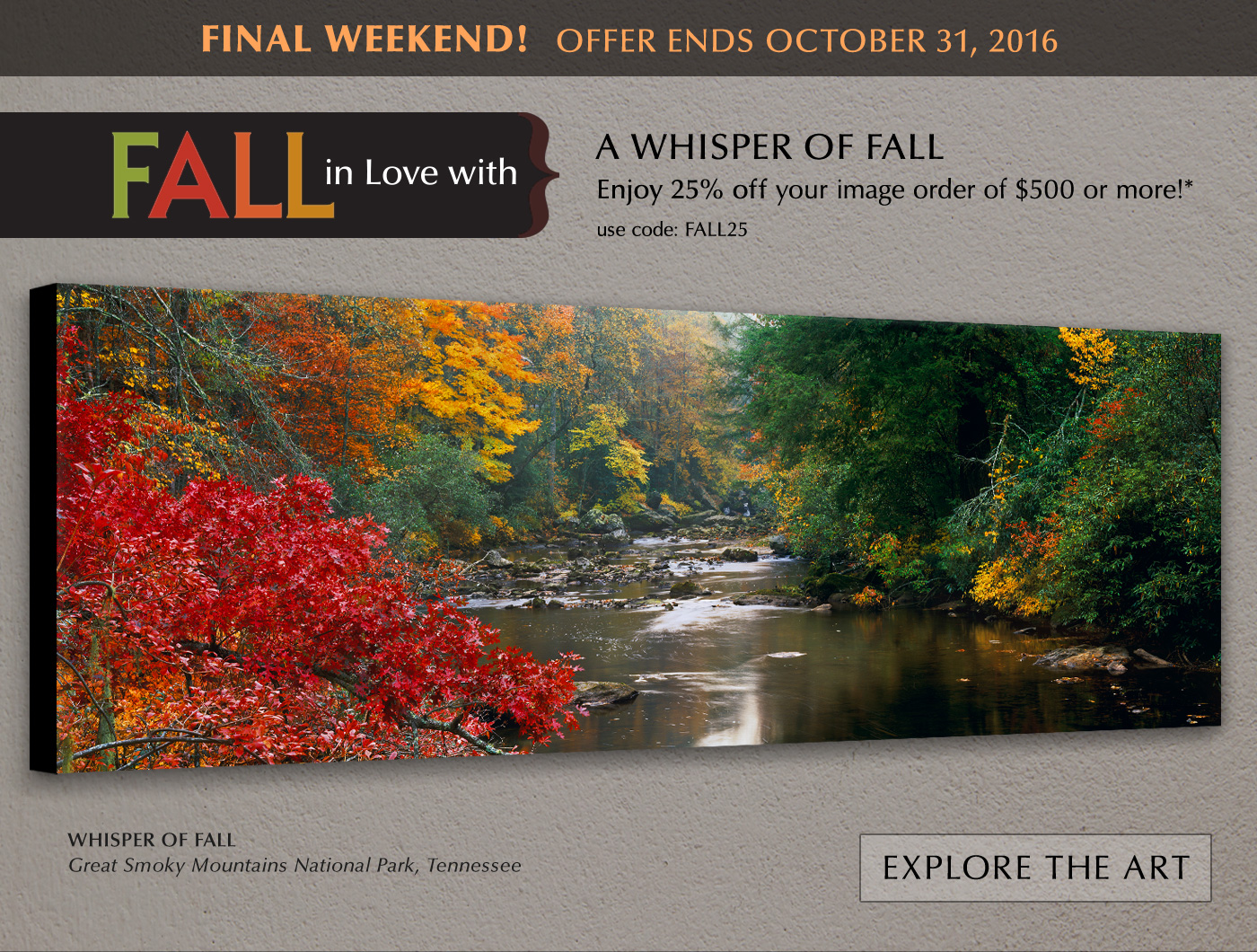 FALL in Love with a Whisper of Fall