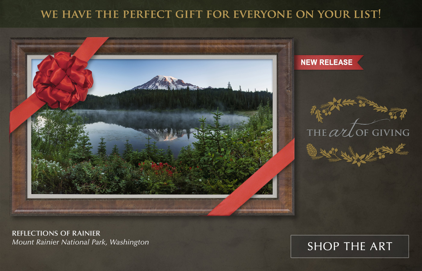 New Release image titled Reflections of Rainier