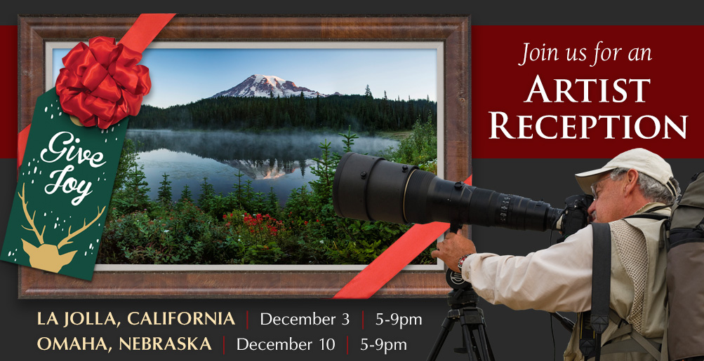 Join us for an Artist Reception in California and Nebraska!