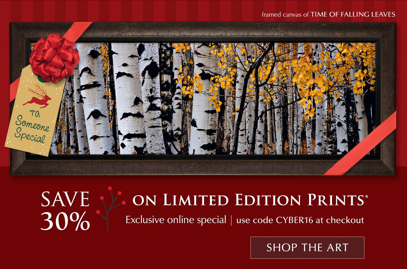 Save 30% on Limited Edition Prints