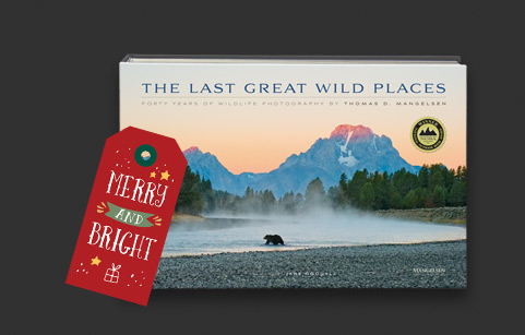 Choose Award-winning book titled The Last Great Wild Places as a Free Gift* with a Limited Edition Print purchase