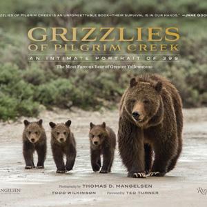 Award winning Grizzlies of Pilgram Creek book