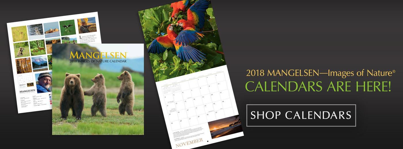 Mangelsen 2018 Calendars are here!