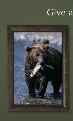 Limited Edition framed print titled The Gift of the Run