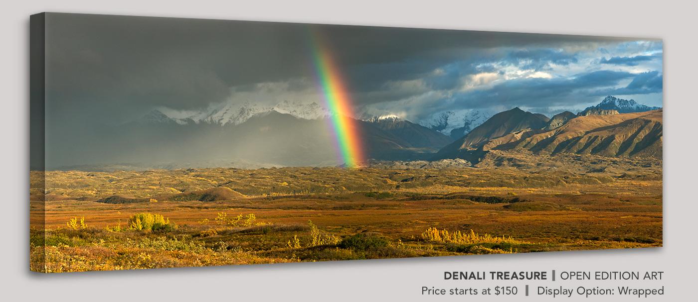 Denali Treasure - Framed, Open Edition