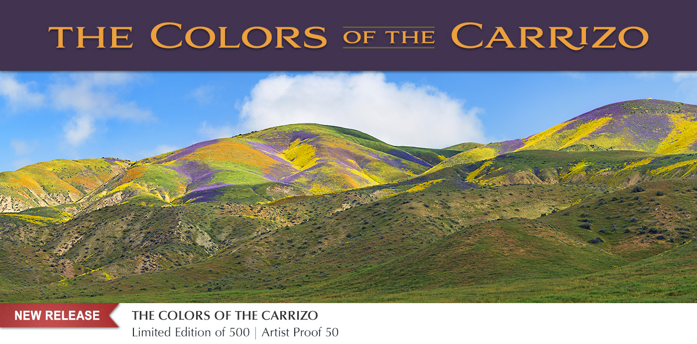 New release limited edition images photographed in California