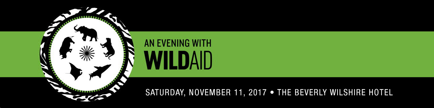Spend an evening with celebrity ambassadors by attending the WildAid Gala