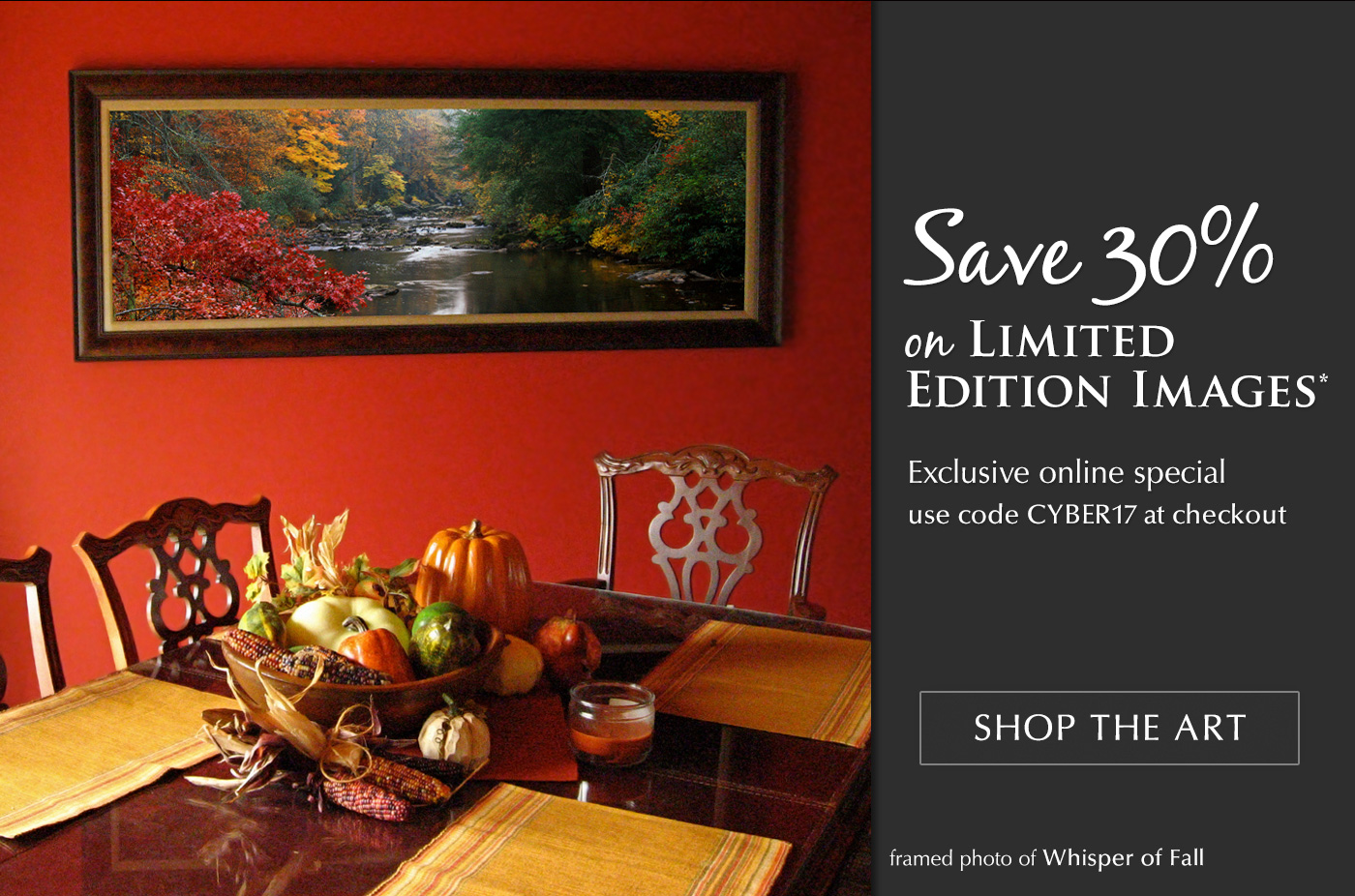 Limited Edition titled Whisper of Fall