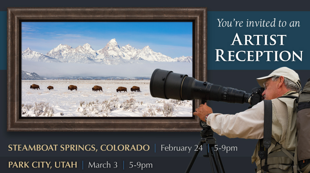 Join us for Artist Receptions in Colorado this Saturday