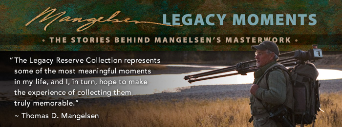 The Legacy Reserve Collection represents some of the most meaningful moments in my life.