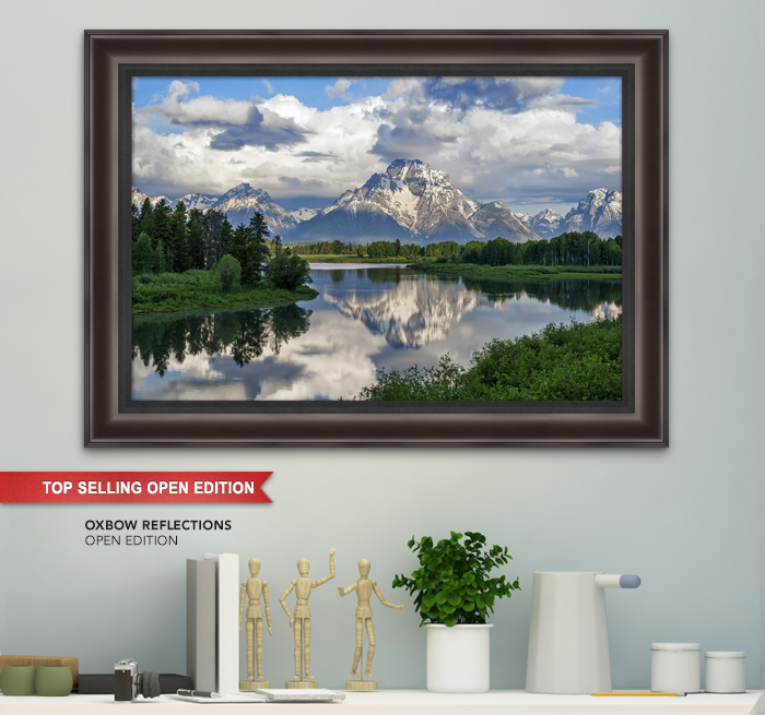 Top Selling Open Edition titled Oxbow Reflections
