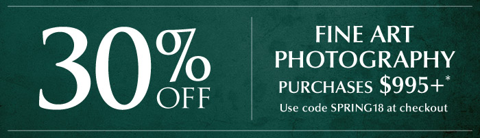 Enjoy 33% off fine art photography