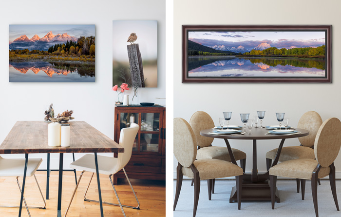 Is your style more traditional or modern and contemporary?