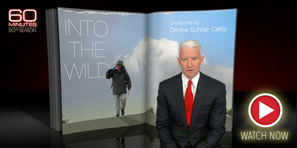 Anderson Cooper with 60 Minutes catches up with Thomas D. Mangelsen—Into the Wild