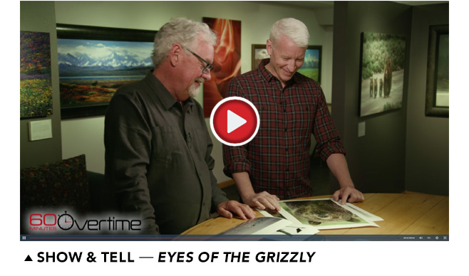 Show and Tell about Eyes of the Grizzly