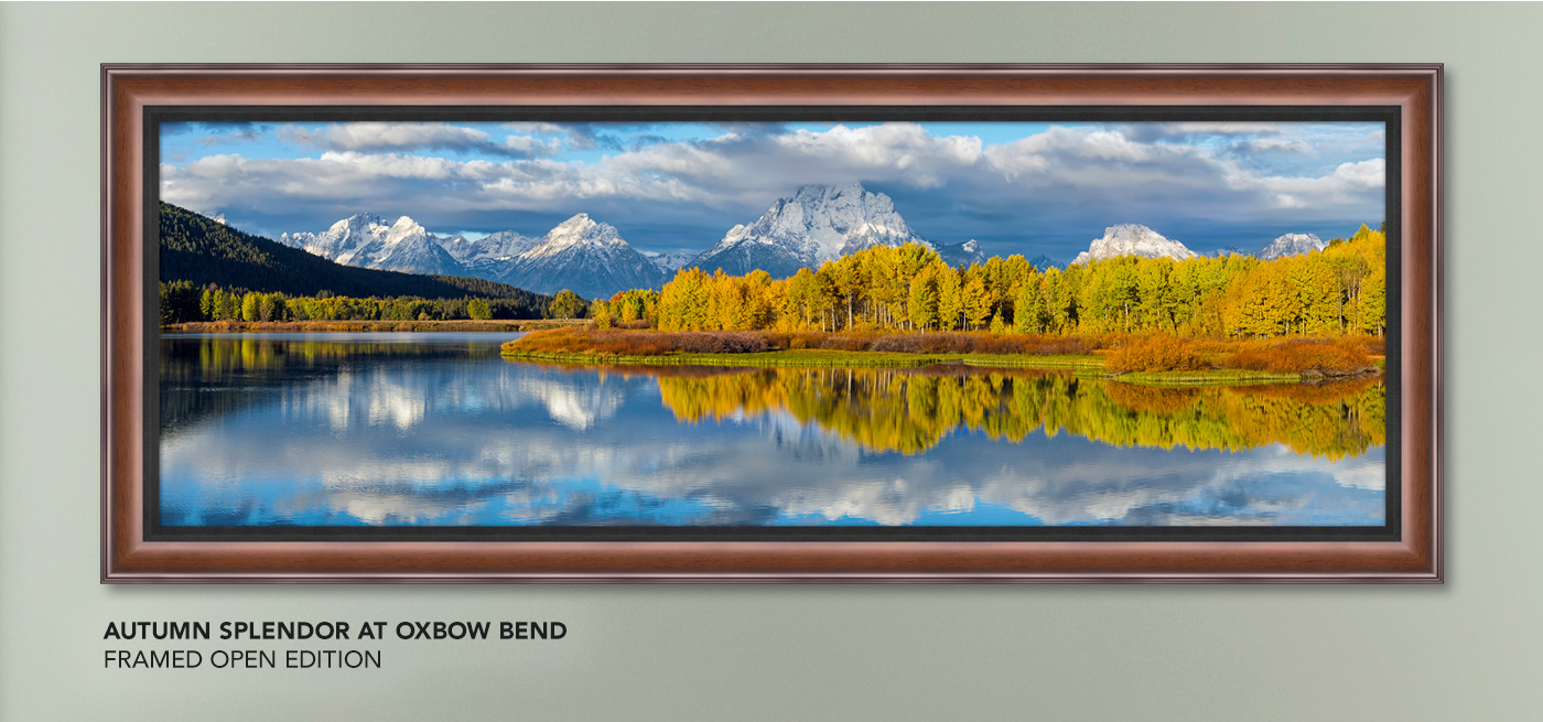 Open Edition titled Autumn Splendor at Oxbow Bend