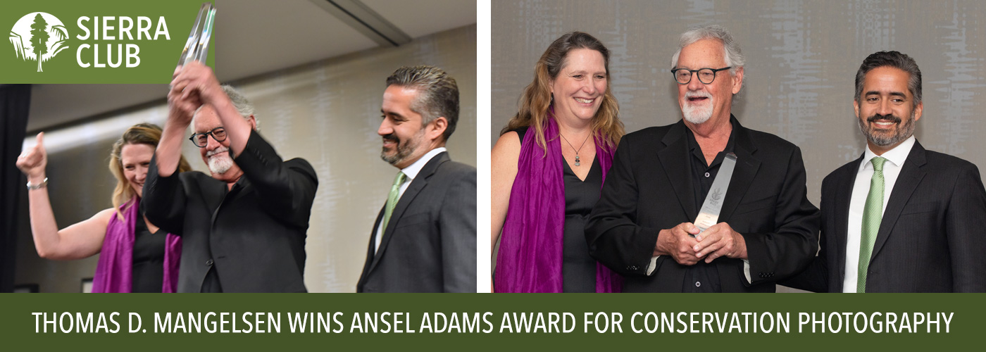 Tom wins Ansel Adams Award for Conservation Photography