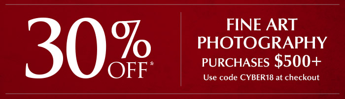 Share the Joy: For a limited time, take 30% off fine art photography!
