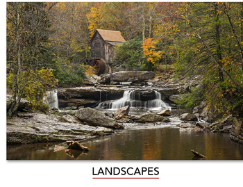 Share the joy of connecting to the outdoors through Mangelsen's Landscape images.