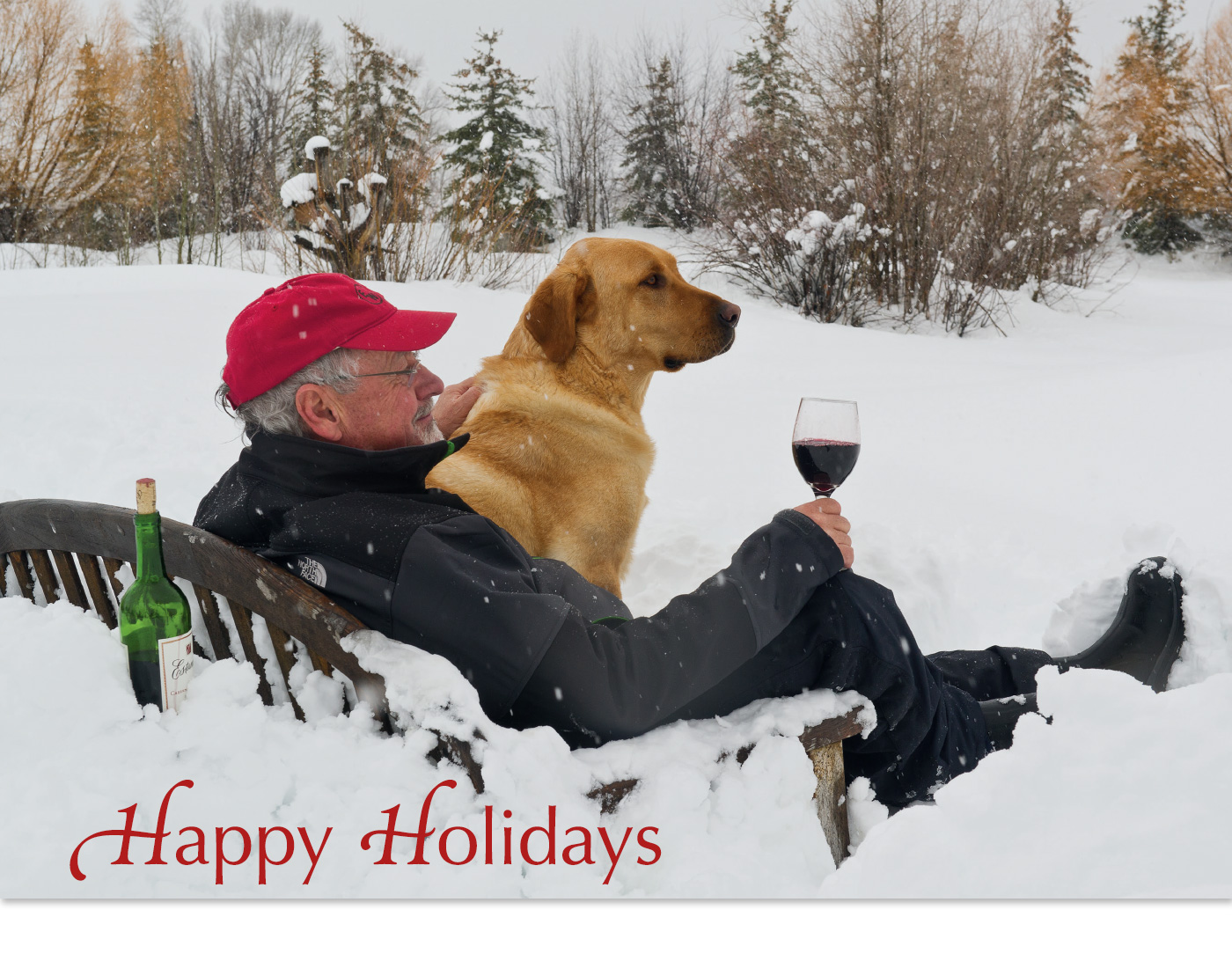 My holiday wish for you this season is that your days are filled with joy and cheer, and that your New Year be filled with peace, happiness, and prosperity.