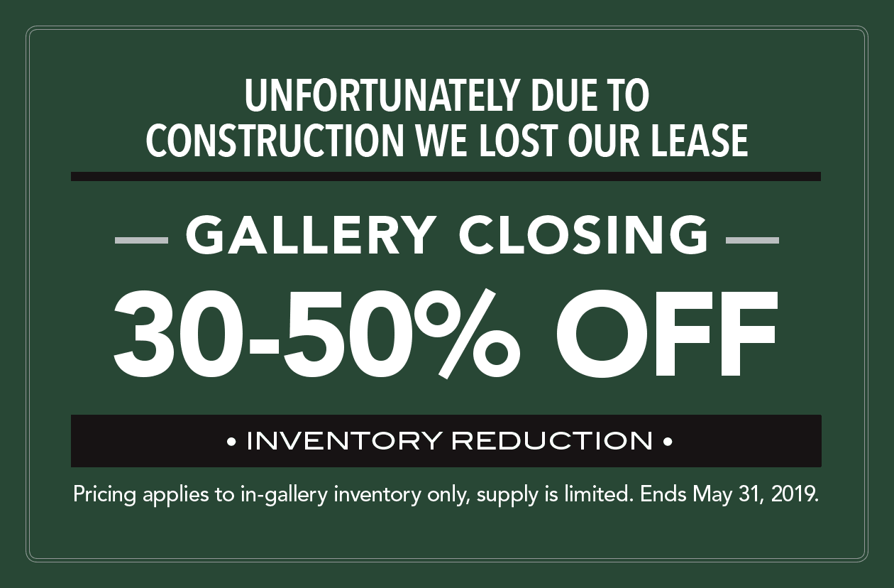Gallery is Closing - All in-stock fine art photographs are now 50-70% off.
