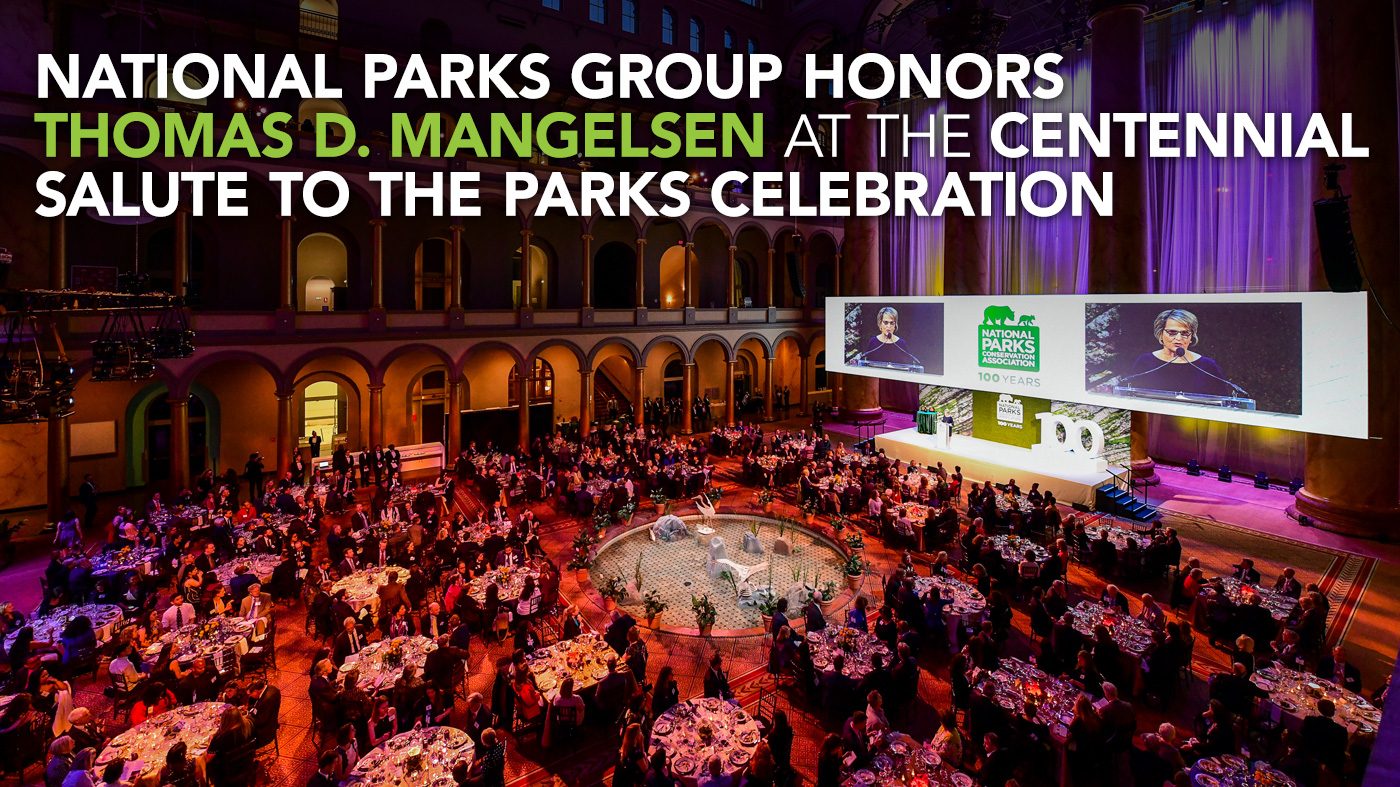 Parks Group Honors Park Heroes at Centennial Salute to the Parks Celebration